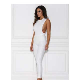 Assia Bodysuit White Medium