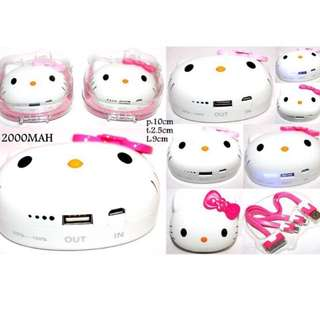 Powerbank Hello Kitty 12000mah Power Bank