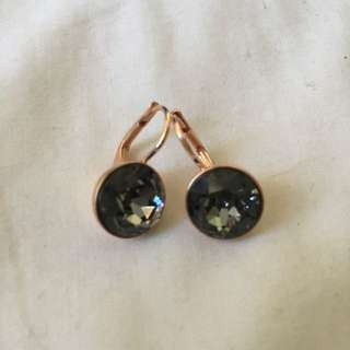 Swarovski Rose Gold Earrings