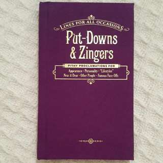 Put Downs & Zingers