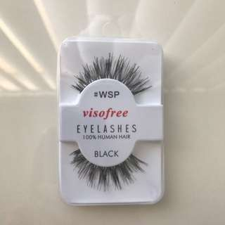 Visofree 100% Human Hair Lashes In #WSP
