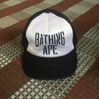 bathing ape classic trucker hat