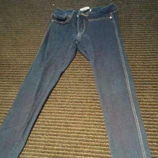 Supre XS Blue Denim Jeans