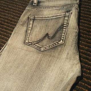 Doll De Luxe Size 6 Grey Denim Jeans