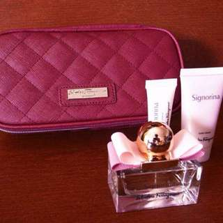 Authentic Ferragamo Parfums Set!