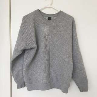 Topshop Boutique Grey Sweater