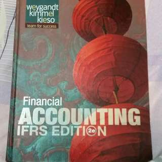 大一初會課本/原文/financial Accounting