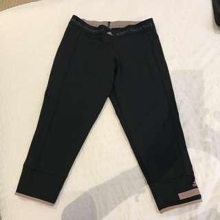 Adidas By Stella McCartney Black Workout Leggings Tights
