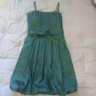 小禮服 晚禮服 洋裝 細肩帶 平口