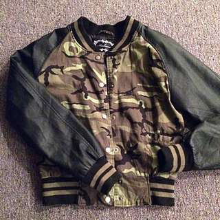 Army Fatigue Bomber Jacket