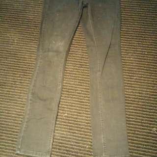 Blockout Size 8 Black Denim Jeans
