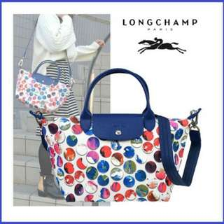 Longchamp Le Pliage Néo Medium Handbag Shoulder Bag, Style 1515 Fantaisie Pebble! Original!