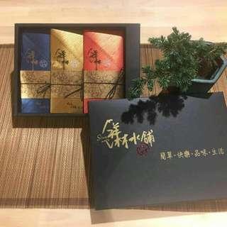 筆藝洋行-送禮首選優選黑曜石大禹嶺高山茶葉禮盒