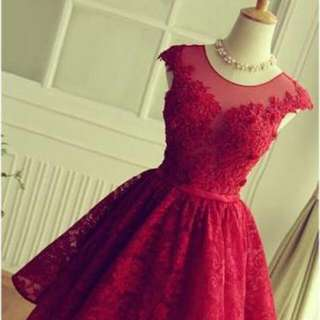 Red Dress Comes With Free Necklace!