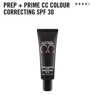 mac prep+ prime cc color correcting