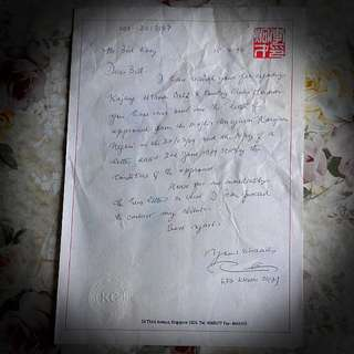 Letter To Bill With Lee Khoon Choy