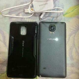 Note 4 32GB SME Full Set