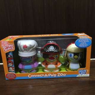 BNIB Bright Starts Connect-A-Pals Zoo
