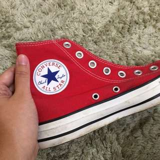Preloved Converse Size 37