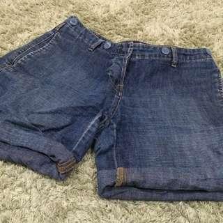 Preloved Jeans Shorts/Hotpants Size S-M