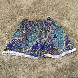 Preloved Floral Short/Hotpants Size S-M