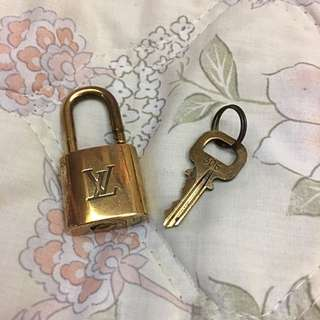 LV Louis Vuitton Spare Lock And Key