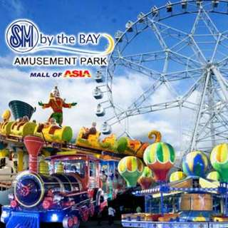 Ride-All-You-Can Pass at SM By the Bay Amusement Park