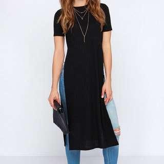 Long Slit Top/Dress