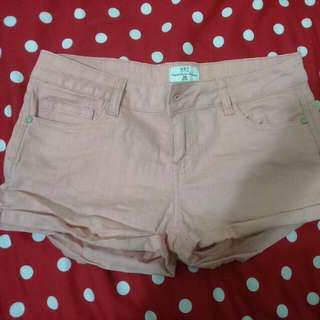NET粉色短褲