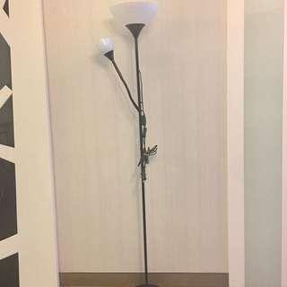 IKEA NOT黑色落地燈