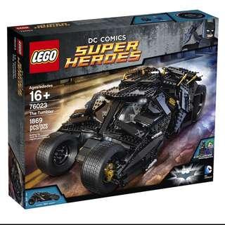 [MINT] Lego Batman Tumbler - 76023 🙆🏻