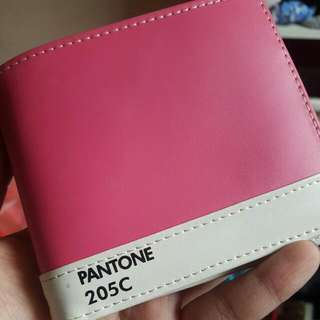 Pink Myuk Wallet (slight Stains)