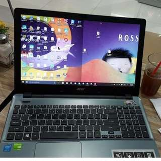 Acer Laptop i7 2.ghZ, 17 inches LED, 8GB DDR3 1TB HDD, NVIDIA GeForce 840M