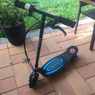 Razor Scooter E100 Blue