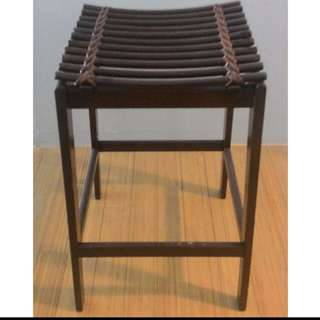 Wooden Counter Stool / Chair / Small Side Table