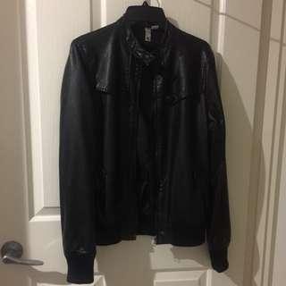 Element Leather Look Jacket