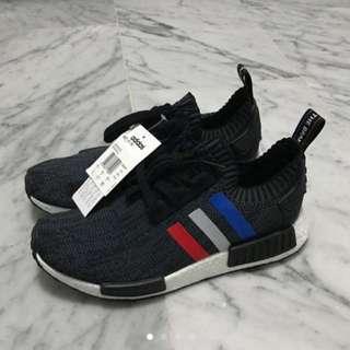 Adidas Nmd Primeknit - Tricolour Black
