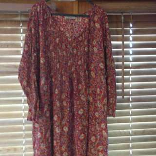 Tree Of Life Dress One Size