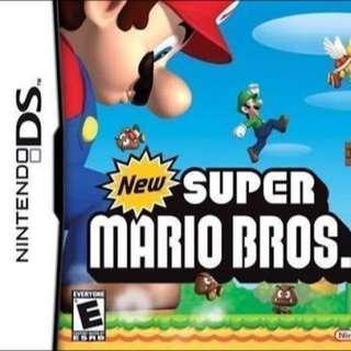 Super Mario Bro Nintendo DS