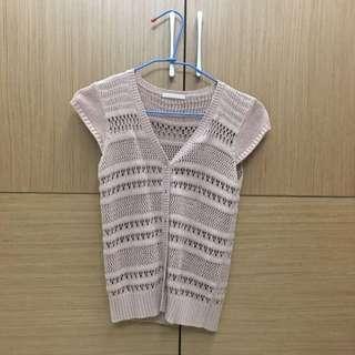 [女裝]🇰🇷正韓 私貨倉庫 網狀針織衫