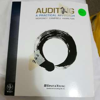 Auditing A Practical Approach (EY Ernst & Young) Moroney Campbell Hamilton