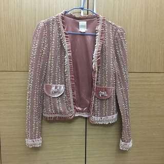 [女裝]🇰🇷正韓 私貨倉庫 香奈兒風外套