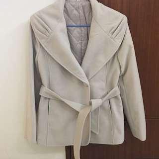 [女裝]🇰🇷正韓 私貨倉庫 米色西裝外套