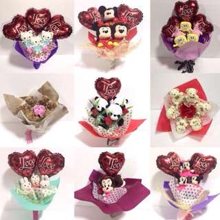 Mini stuff Toy Bouquet