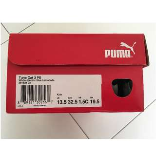 Brand new children Puma shoes