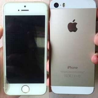 jual cepat iphone 5s gold