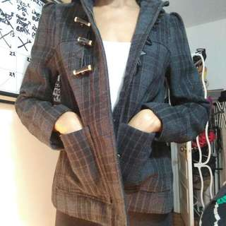 ❤H&M $5 Plaid Shirt Jacket ❤