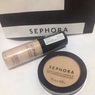 Sephora Foundation and Compacte