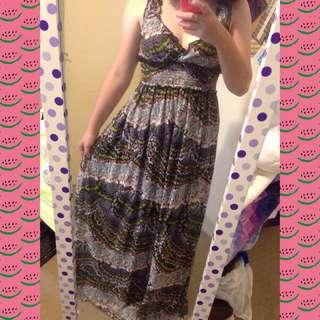 SunnyGirl Butterfly Dress