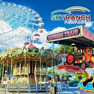 Sky Ranch Pampanga Ride All You Can 21 in 1